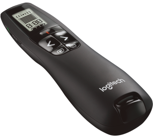 R700 LASER PRESENTATION REMOTE With LCD display for time tracking